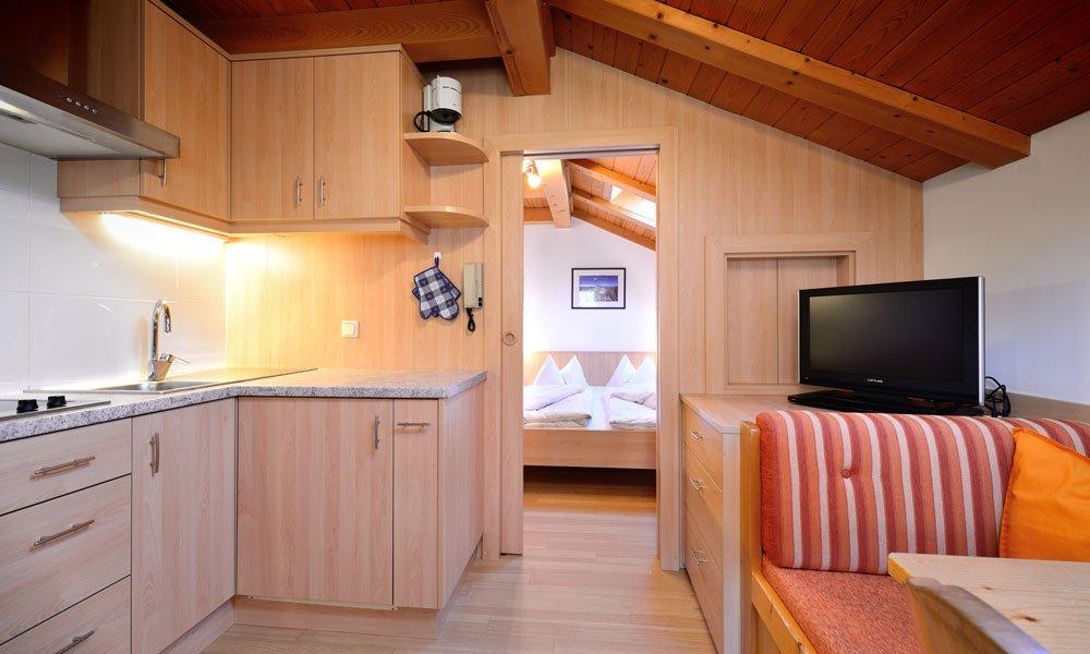 Voll ausgestattete Appartements mit viel Platz und Komfort