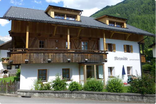 Appartements Metzmühle