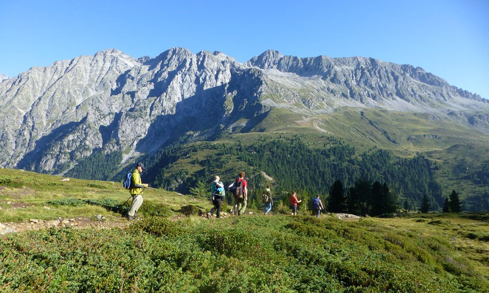 Hiking to the Antholz Valley and Puster Valley