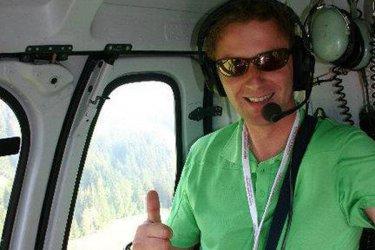 Live aus dem Hubschrauber |Sportmoderator Günther Leitgeb 6